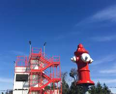 Training Tower and Hydrant